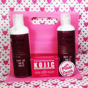 Paket Kojic Whitening Body Lotion PusatCantik