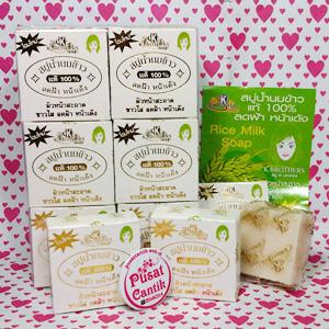 sabun susu beras thailand k-brothers original